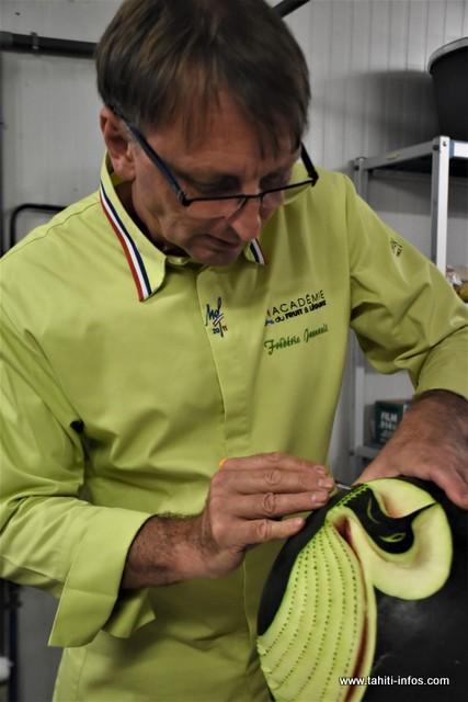 Grand chef de fruits et légumes, Frédéric Jaunault est au fenua