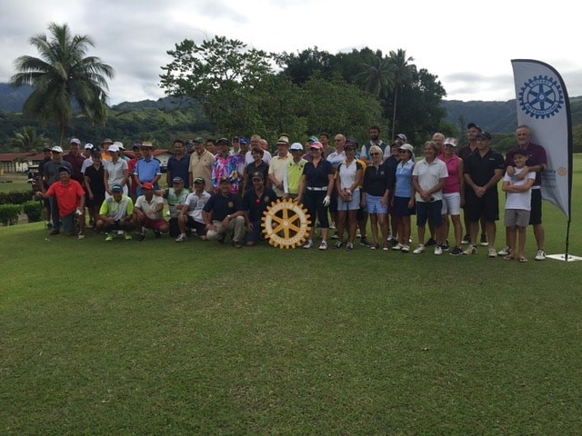 Le tournoi de Golf s'est tenu sur quatre jours. Crédit Rotary