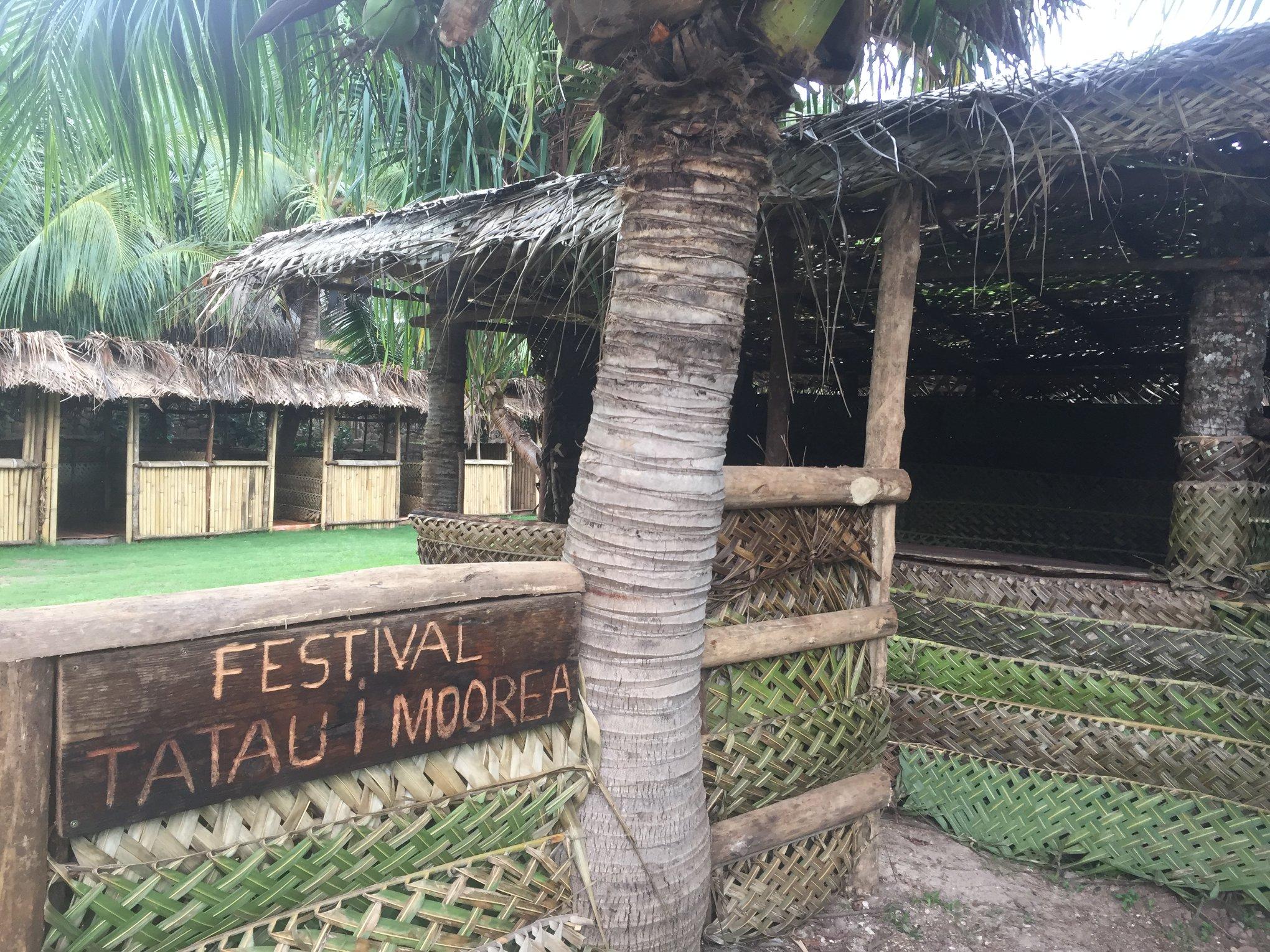 Le site du festival.Crédit Crédit Mana Tatau Maohi.