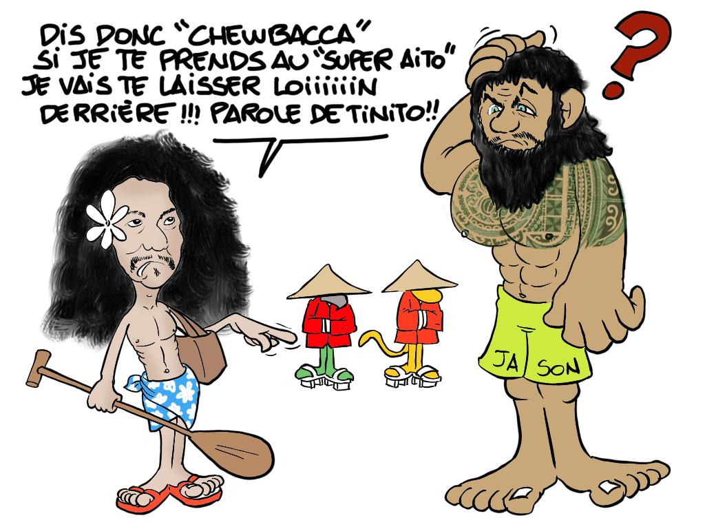 """"""" Le chinois marrant """" vu par Munoz"""
