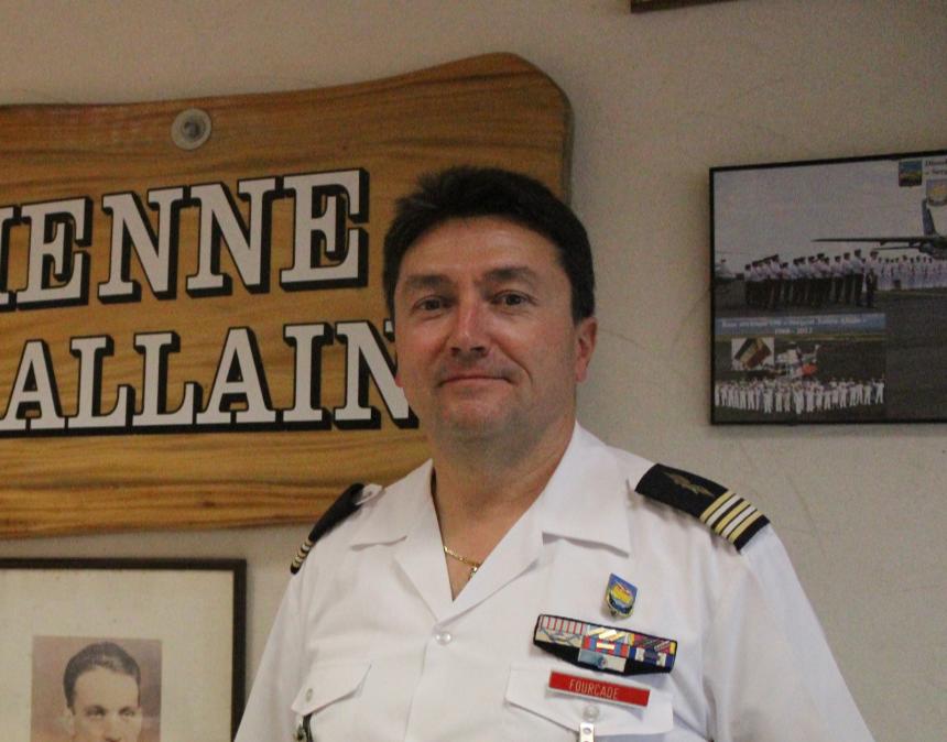 Le Lieutenant-Colonel Fourcade.