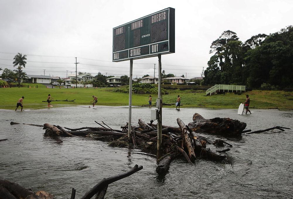La tempête Lane quitte Hawaï, sans trop de dommages