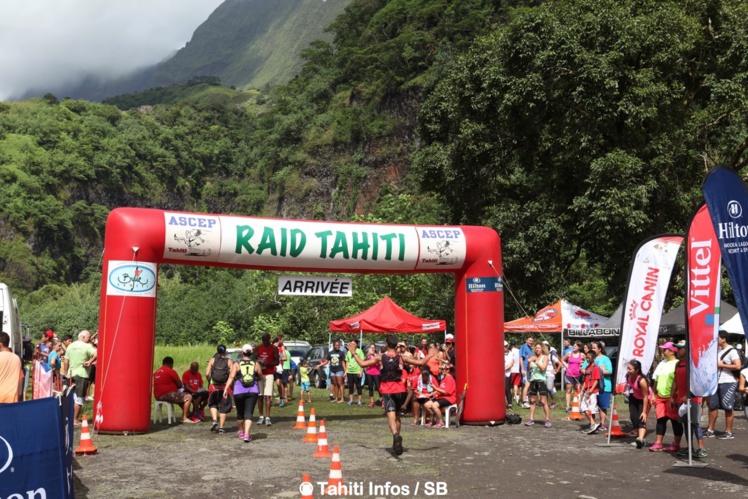 Le Raid Tahiti se déroule au cœur de la vallée de Papenoo
