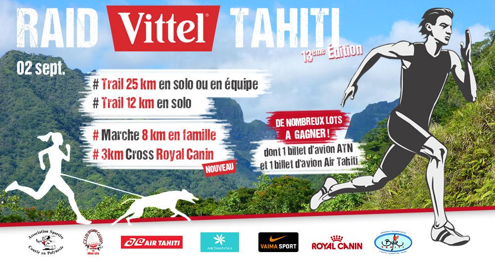 Course à pied - Raid Tahiti : Une course en pleine nature