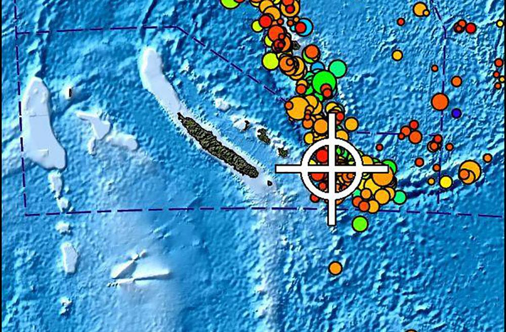 Nouvelle-Calédonie, Vanuatu et Fidji : brève alerte au tsunami après un séisme, pas de dégâts signalés