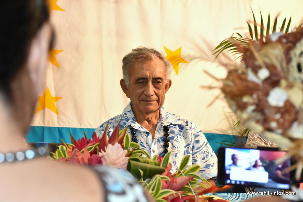 Oscar Temaru est aujourd'hui sous la menace d'une peine d'inéligibilité que pourrait prononcer le Conseil d'Etat.