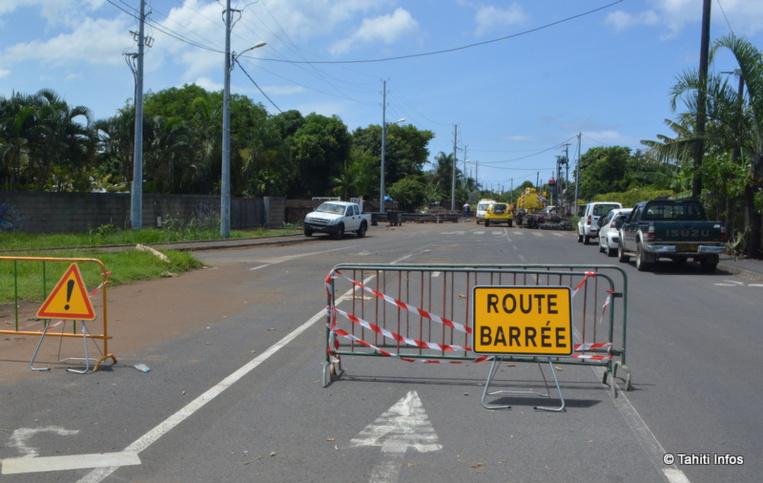La route de Matatia sera fermée à la circulation lundi soir