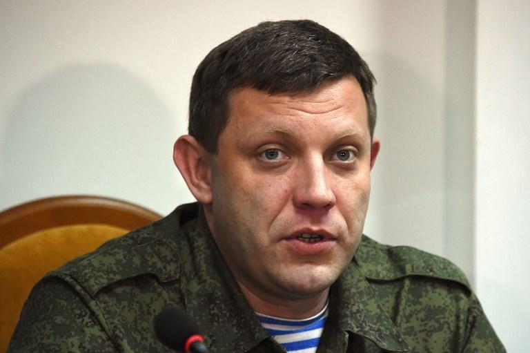 Ukraine : le principal dirigeant séparatiste tué dans une explosion