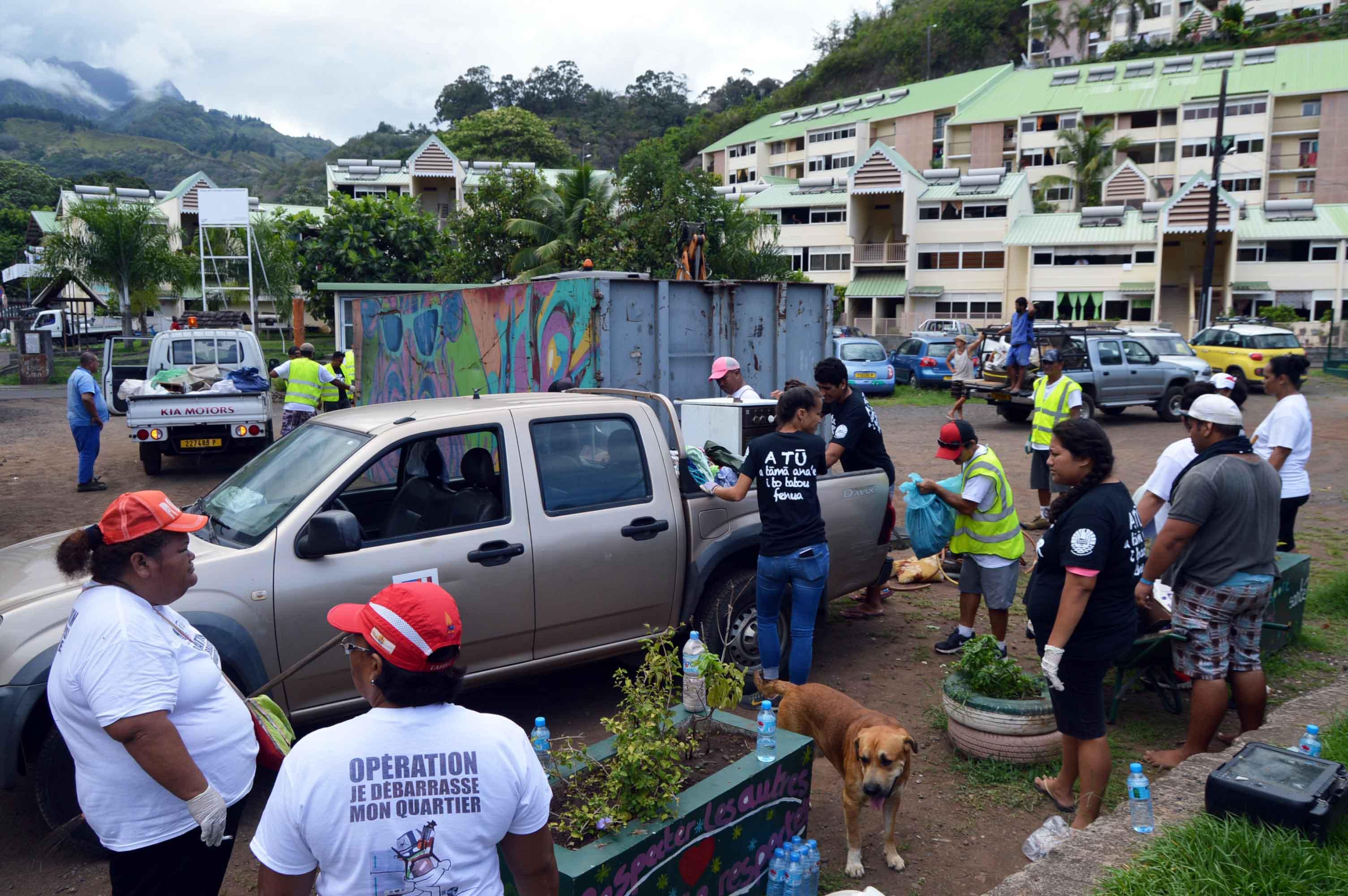 La municipalité lance un appel aux citoyens pour qu'ils viennent déposer leurs encombrants dans les bennes qui seront mis à leur disposition du 17 au 21 septembre.