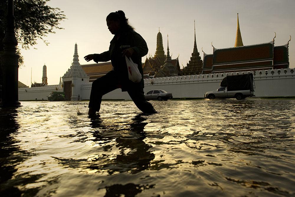 Bangkok coule et pourrait être en partie submergée d'ici à 2030