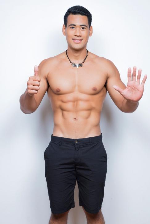 Dix beaux gosses pour l'élection de Mister Tahiti 2018