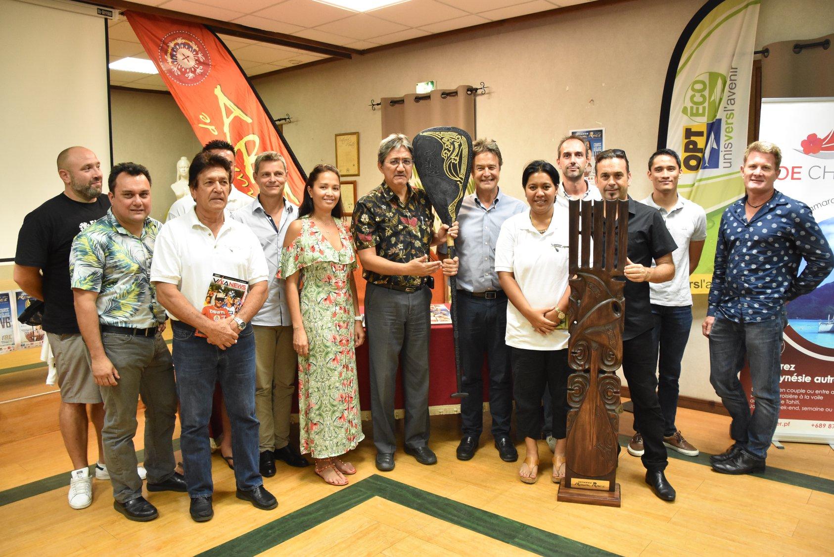 La Tetiaroa Royal Race se déroulera les 15 et 16 septembre prochains © Va'a News