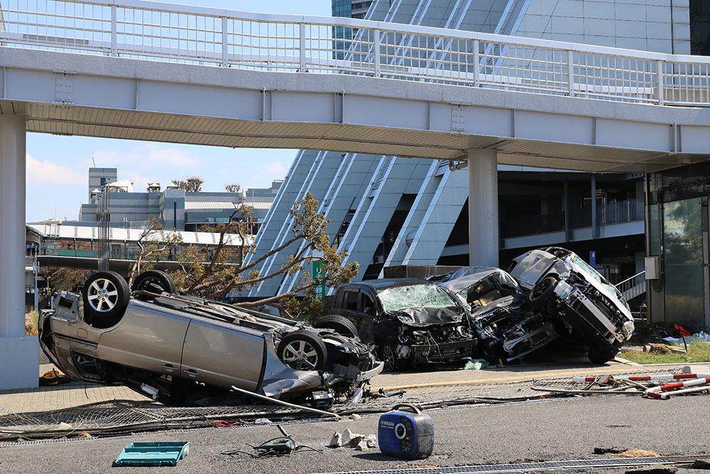 Typhon au Japon: 11 morts et l'aéroport d'Osaka à l'arrêt jusqu'à nouvel ordre
