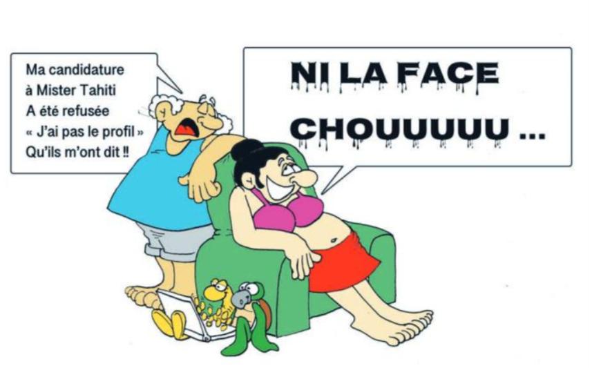 """ Mister Tahiti 2018 "" vu par Munoz"