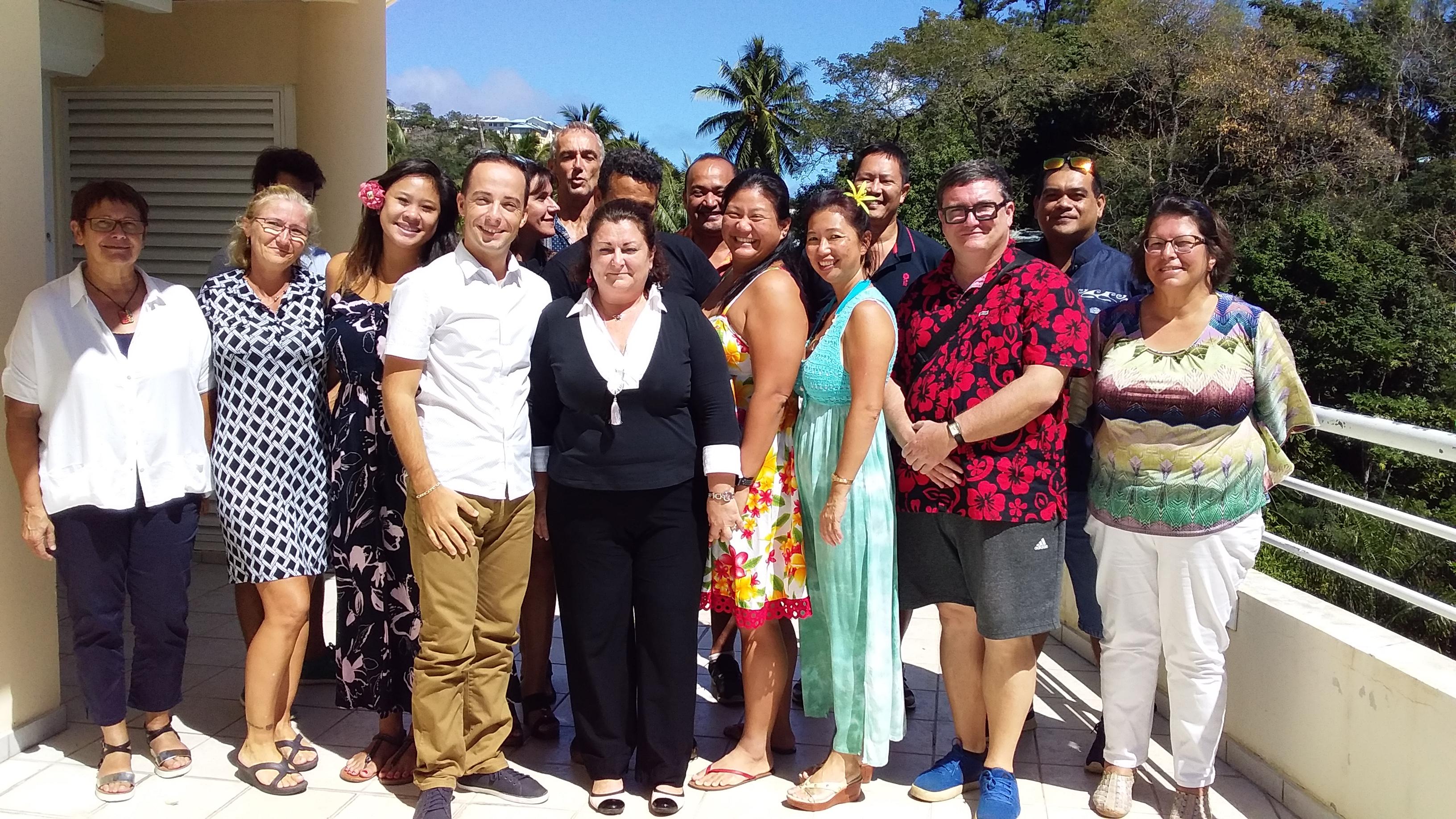 Depuis lundi et jusqu'à vendredi, les délégués syndicaux de l'Union des syndicats polynésiens de l'enseignement privé se réunissent avec des cadres de la CFDT, venus de France.