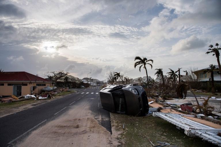 Saint-Martin peine à faire face à ses débris et encombrants