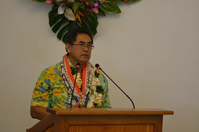 Simplicio Lissant, nouveau maire de Punaauia