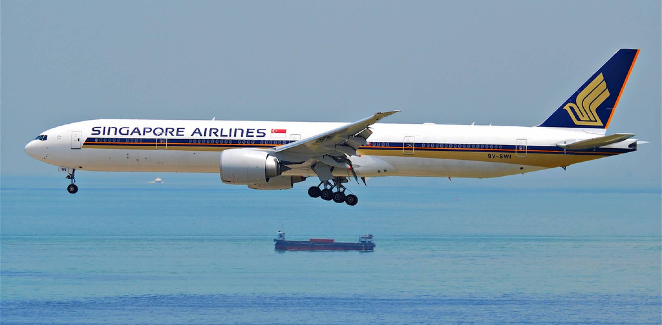 ANZ: Un avion Singapour Airlines sur le tarmac de Tahiti Faa'a dimanche