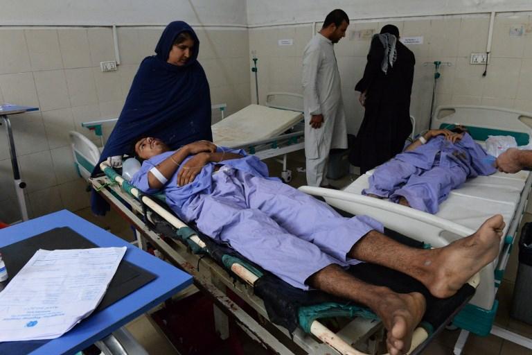 Afghanistan: le bilan de l'attentat dans l'Est monte à 68 tués, deuxième plus meurtrier de l'année