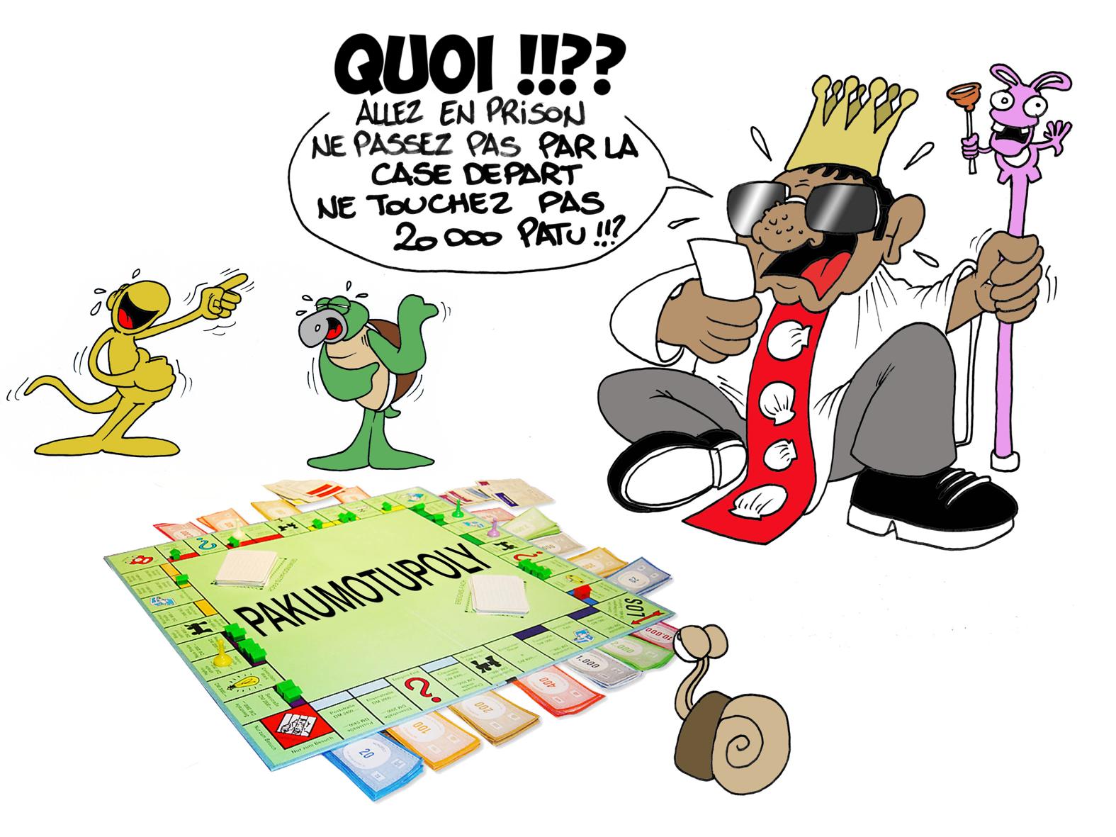 """ Pakumotu, case retour "" par Munoz"