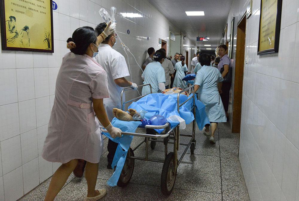 Une voiture fonce dans la foule en Chine: 11 morts, 44 blessés