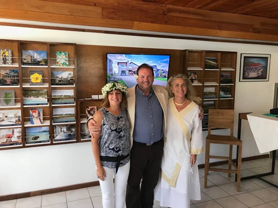 La nouvelle agence French Polynesia Sotheby's International Realty de Moorea est dirigée par Virginie Monot-Giusti et Caroline Thomas.