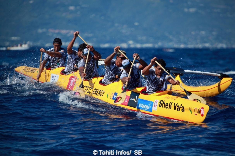 Shell Va'a a pu compter sur son barreur emblématique David Tepava