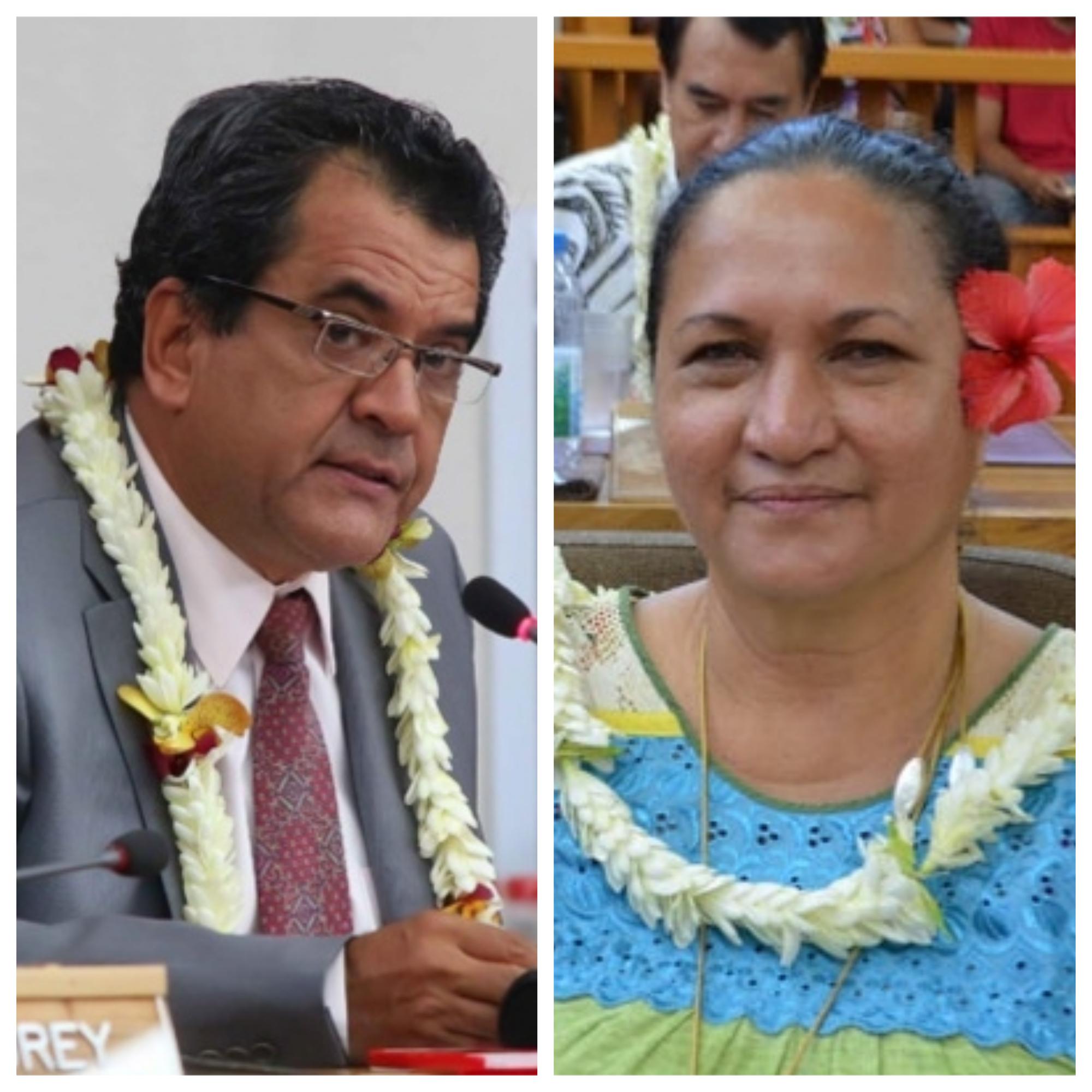Edouard Fritch a répondu par courrier à une question posée par l'élue Tavini Eliane Tevahitua.