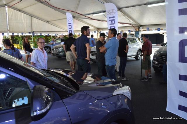 Le Salon de l'auto Tahiti se déroulera du mercredi 19 au dimanche 23 septembre.