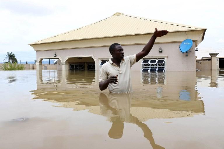 Des inondations font une centaine de morts au Nigeria
