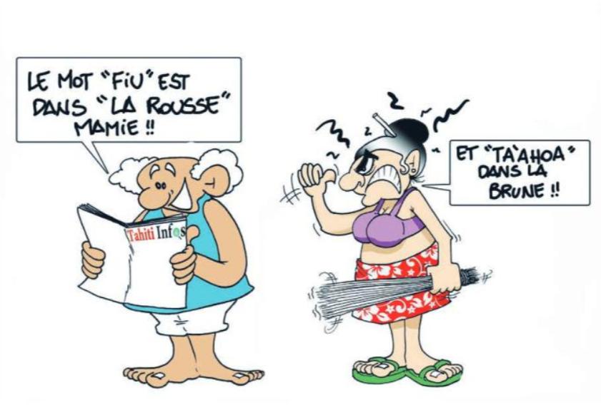 """"""" Fiu dans le Larousse """" par Munoz"""