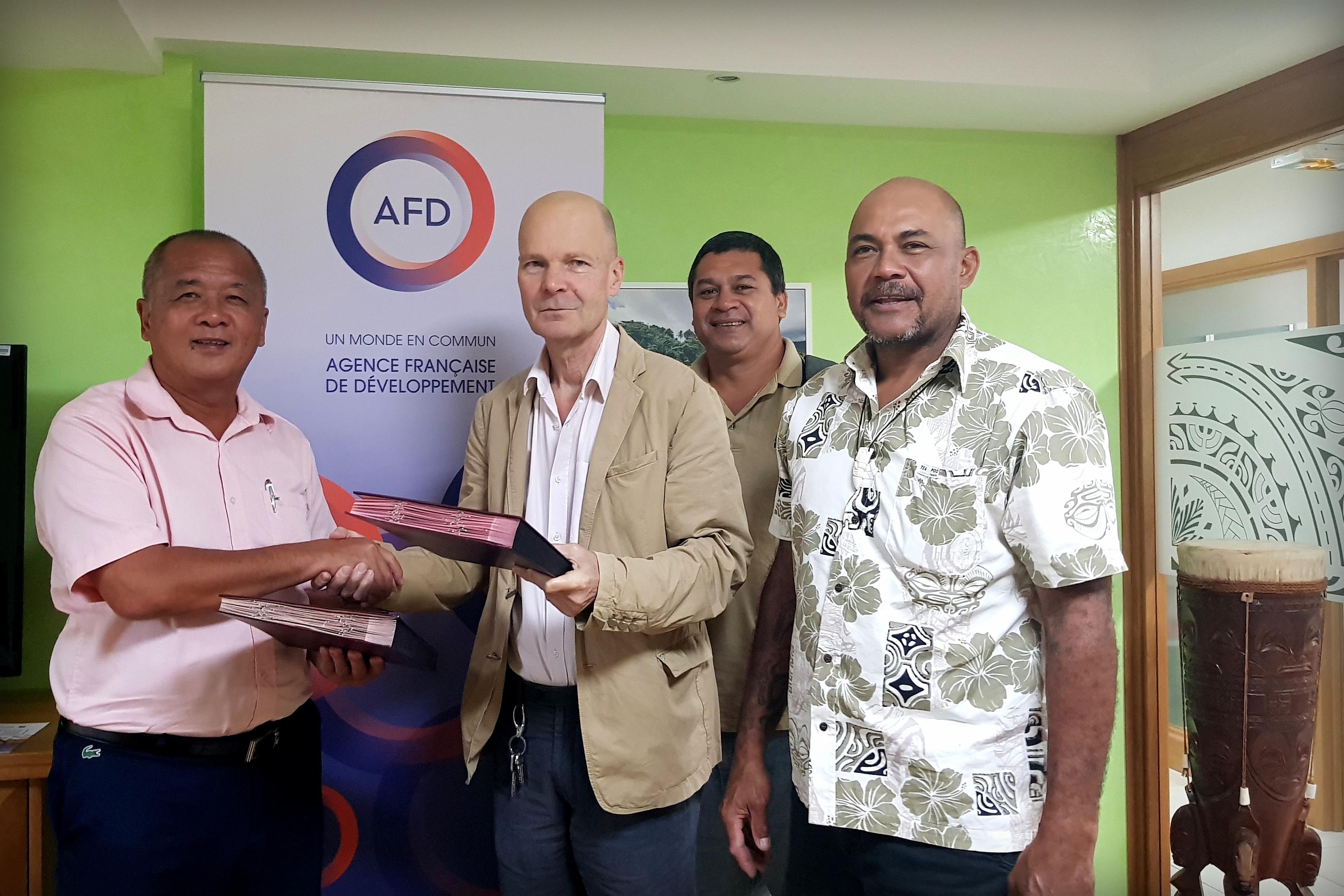 AFD: Un emprunt de 60 Millions pour la commune de Huahine
