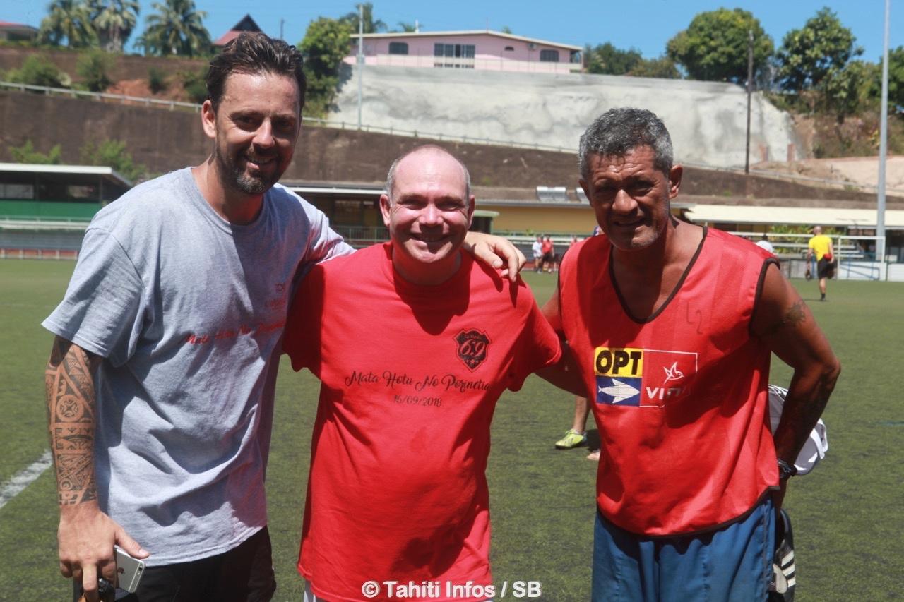 Bastien, Christophe et Pascal, les initiateurs de l'évènement