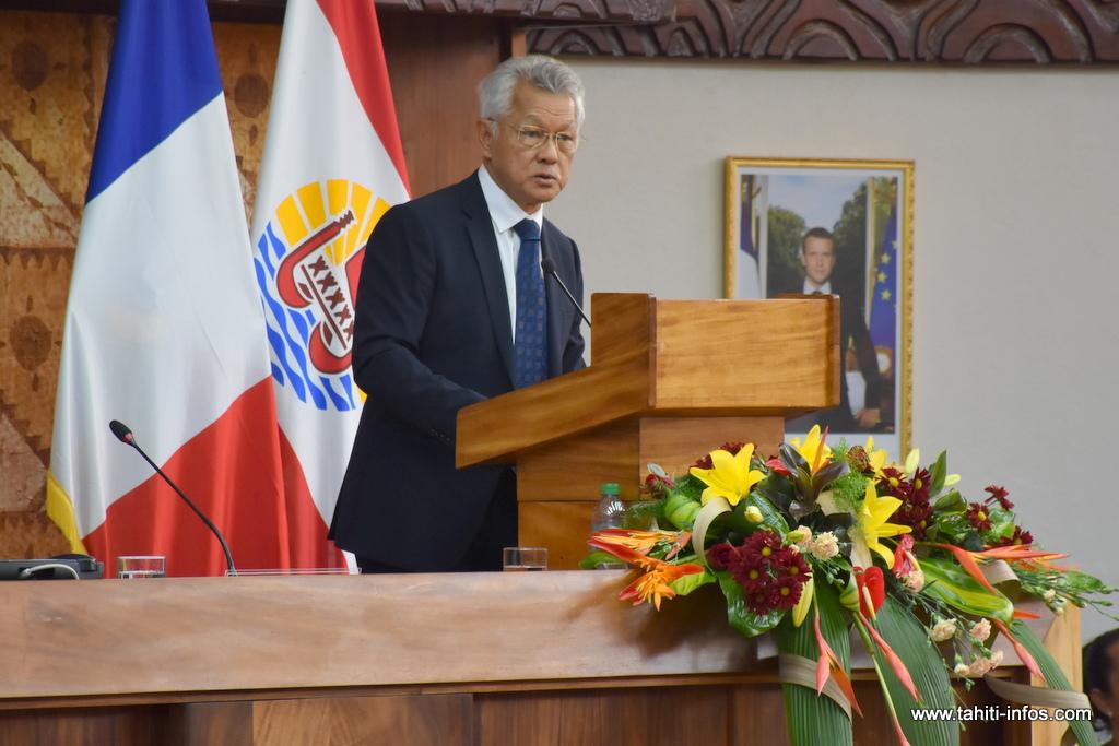 Ouverture de la session budgétaire 2018 : l'allocution du président de l'assemblée