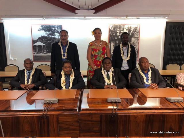 La délégation vanuataise est en mission au fenua depuis le 14 septembre.