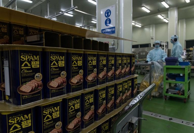 Encore un peu de pâté? L'incroyable succès du spam en Corée du Sud