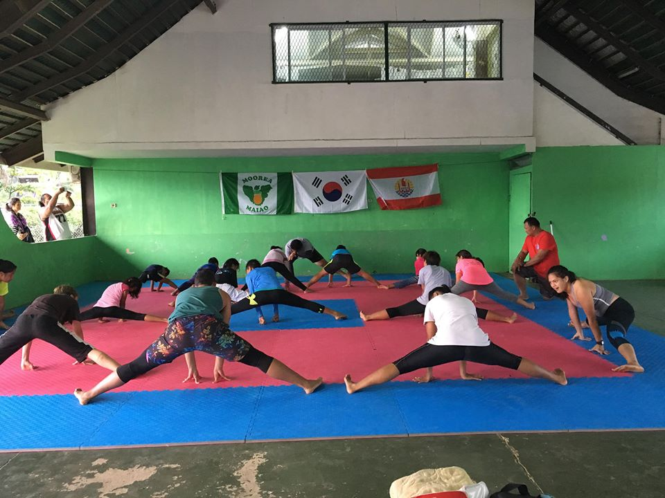 Taekwondo : des graines de champions à Moorea