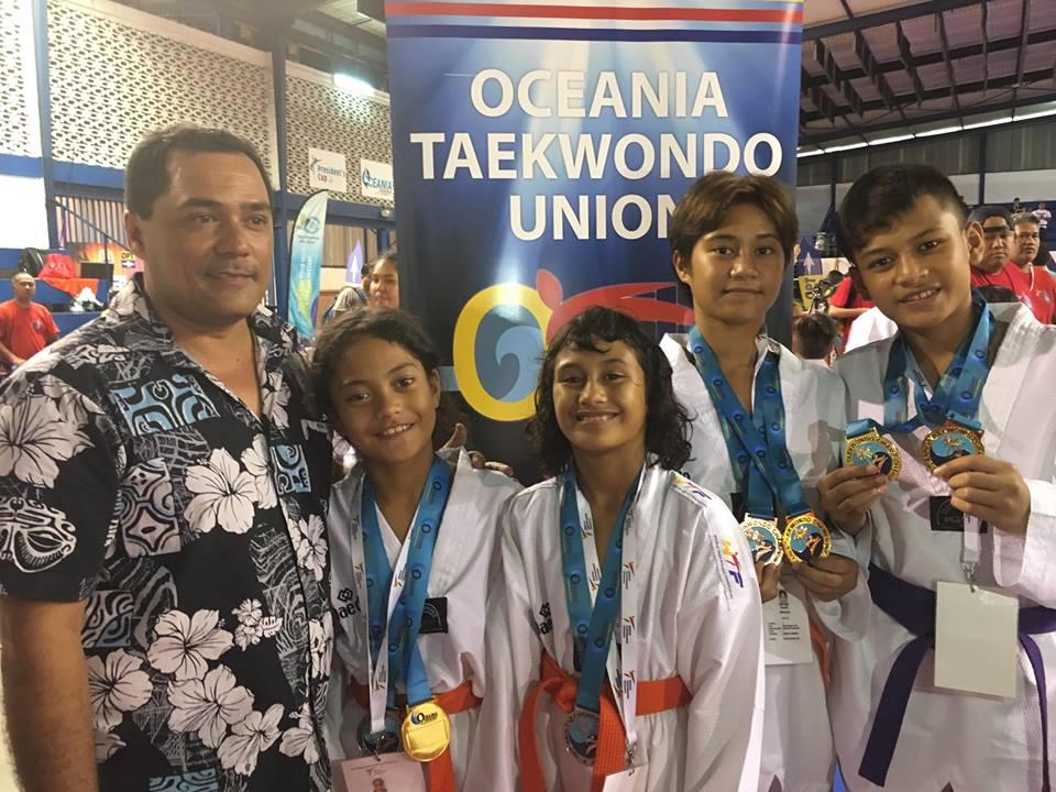 Le club de Paopao a été créé cette année mais s'est déjà distingué en remportant des médailles aux Oceania en août.