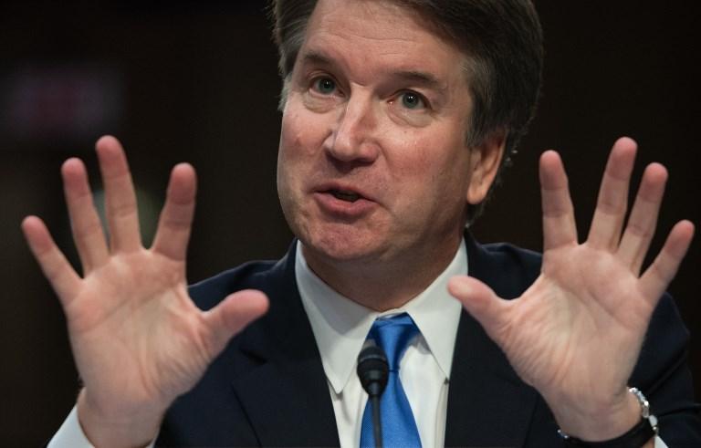 Cour suprême: le juge Kavanaugh lance la contre-offensive