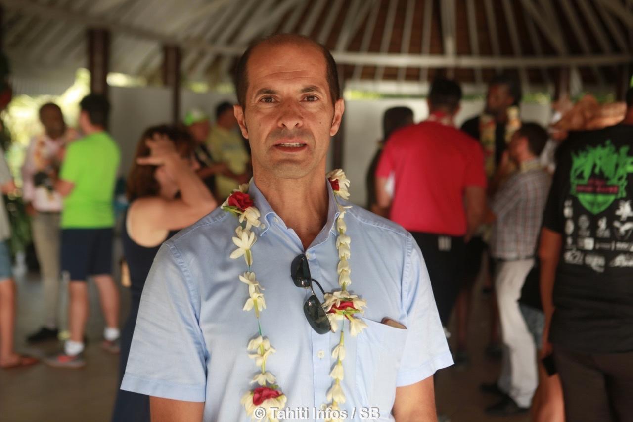 Raymond Yeddou, administrateur des îles de la Société et représentant du Haut-Commissaire