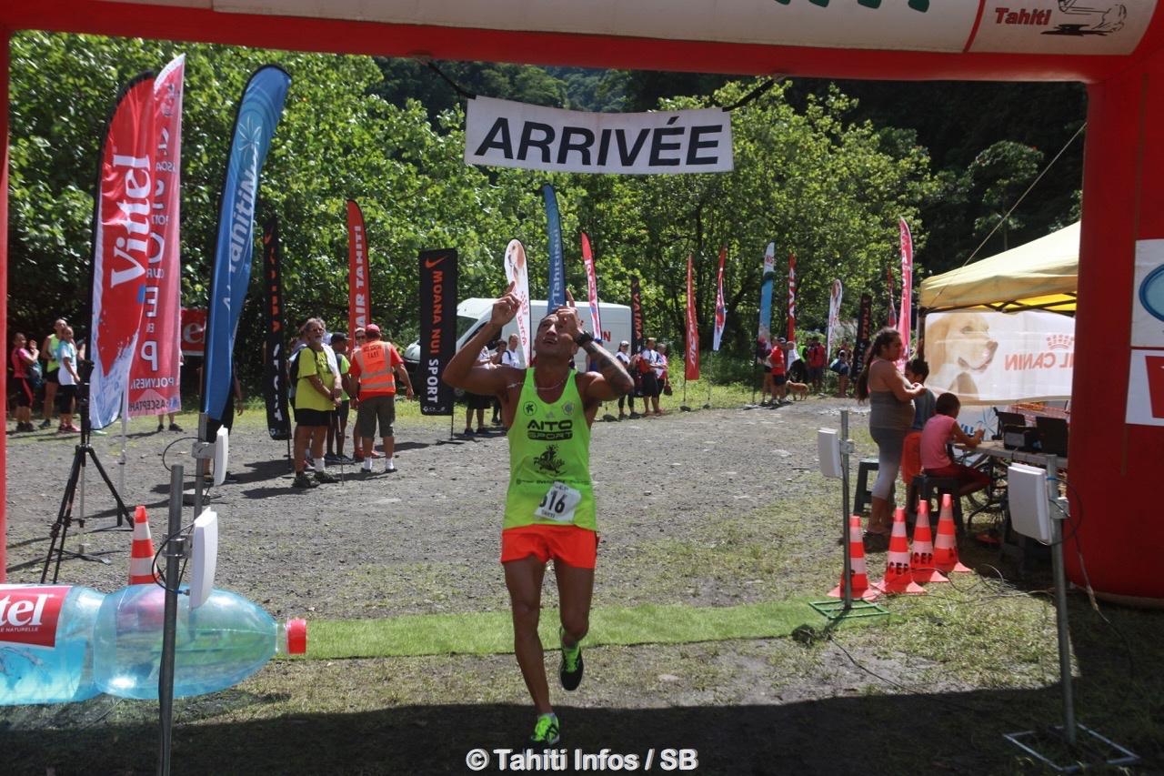 Teiva Izal remporte la catégorie reine sur 25 km