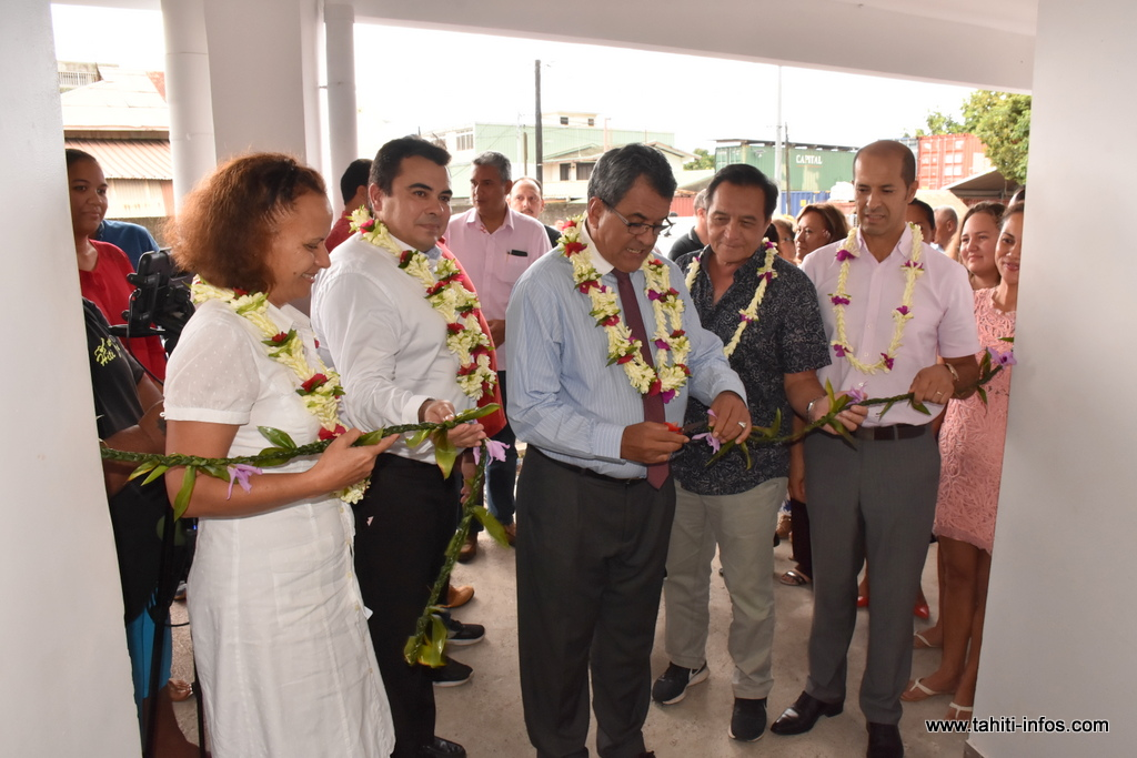 L'inauguration des locaux était organisée mercredi après-midi.