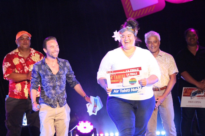 Yepo, vainqueur  du Tahiti Comedy Show découvre les scènes parisiennes