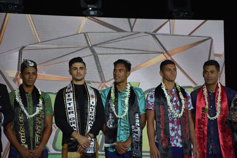 Tamahei Pahoeani, sacré Mister Tahiti 2018