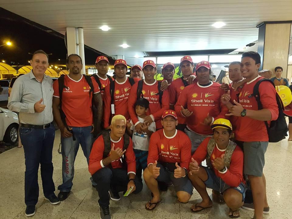 Molokai Ho'e : L'équipe Shell Va'a aux taquets