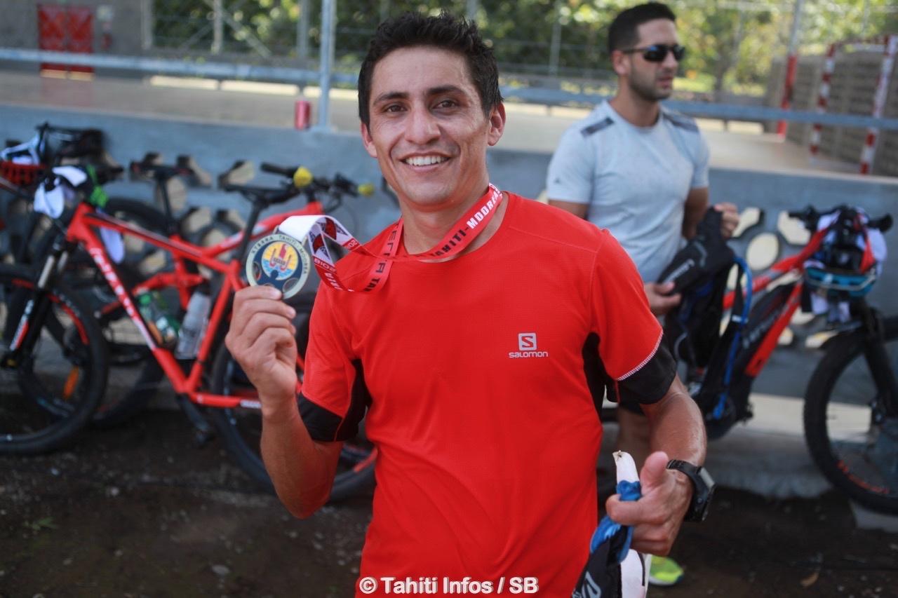 Delbi Villa-Gongora a remporté le trail
