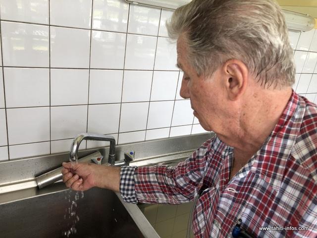 L'eau à Tautira n'est pas potable.
