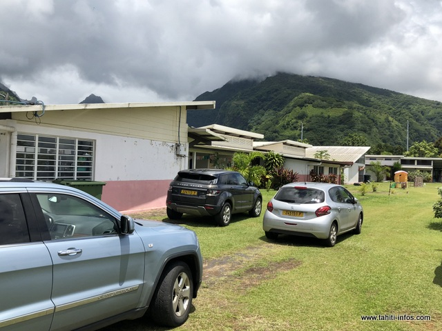L'école maternelle de Tautira est vétuste. Pas de travaux prévus cette année.