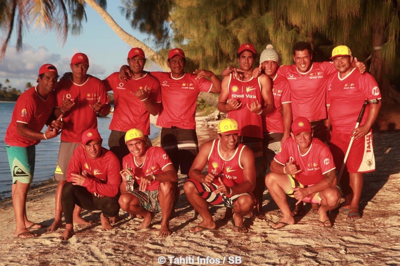 Shell Va'a, un team au palmarès encore inégalé