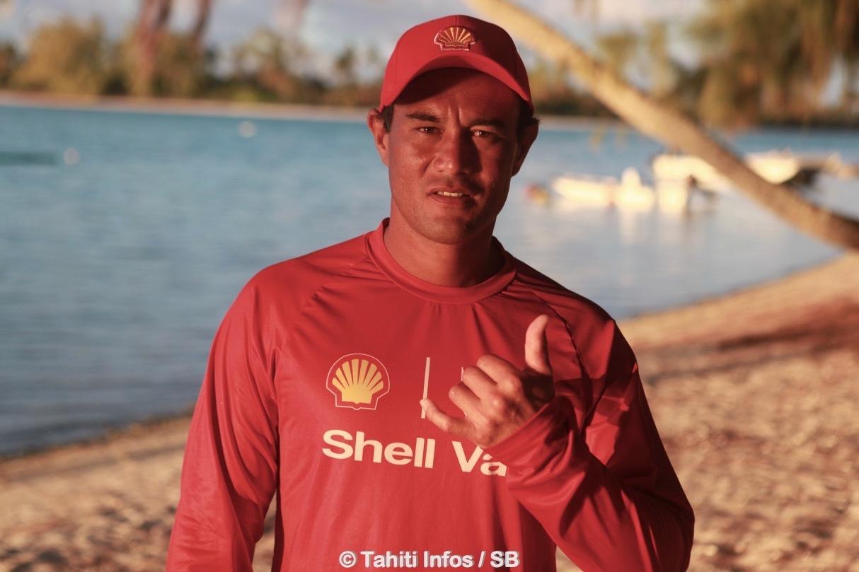 David Tepava, coach et barreur emblématique de Shell Va'a